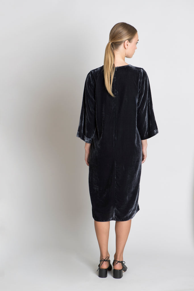 CHARCOAL DIANA DRESS - SOLIKA