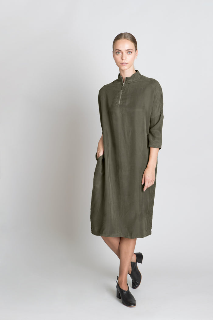 OLIVE LILIOU DRESS - SOLIKA