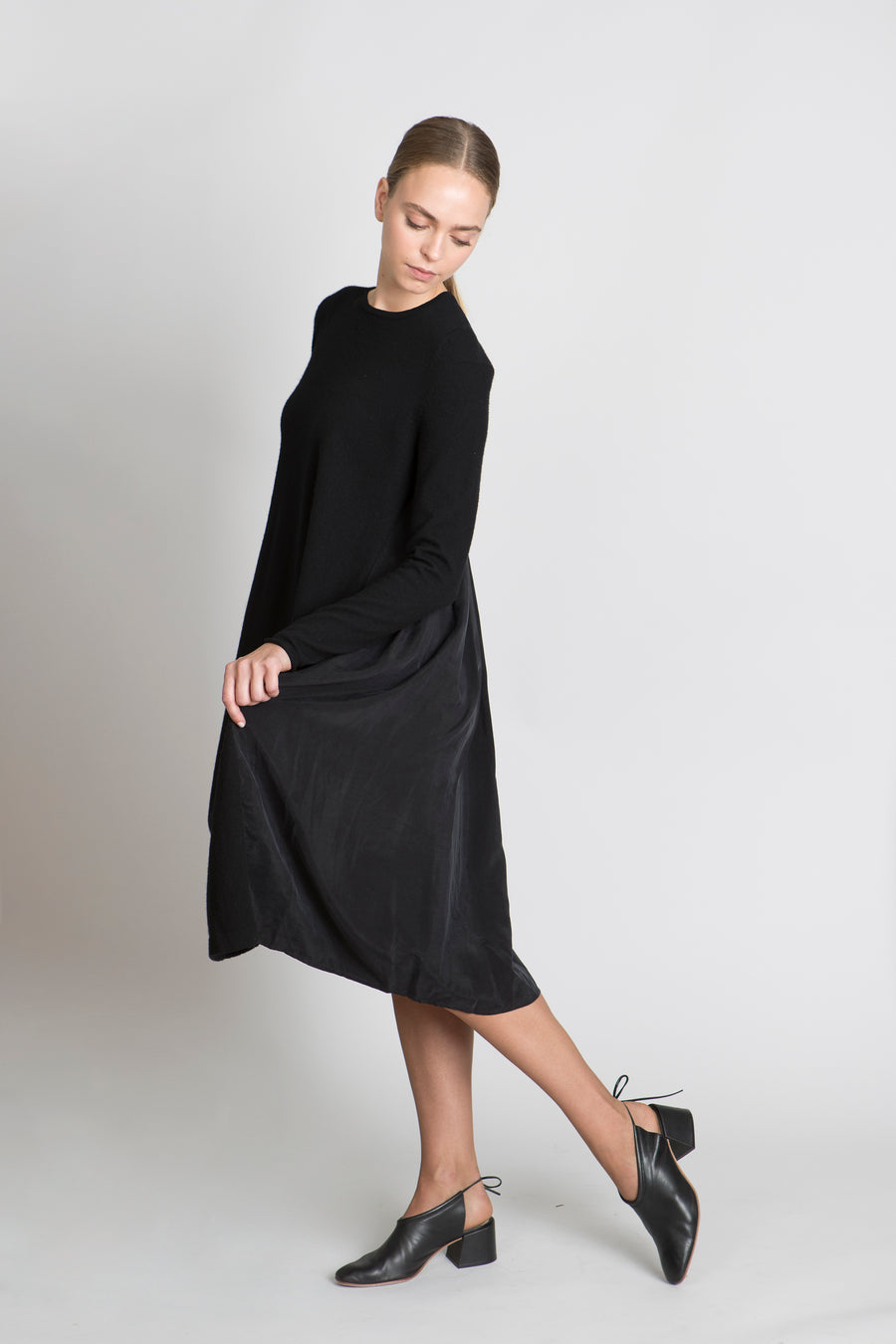 BLACK LALLA DRESS