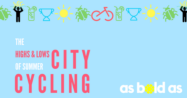 What's hot & what's not - summer city cycling
