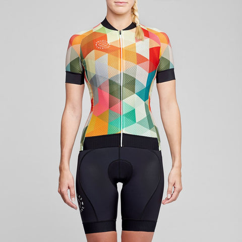 Angeles Creative Women's Cycling Jersey