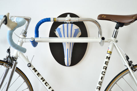 upcycled bike rack