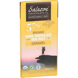 Sea Salt & Caramel 57% Dark Chocolate