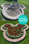 DIY Mickey Mouse Flower Planter Bed Project Plans