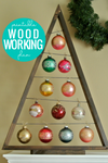 Easy DIY Ornament Display Tree Woodworking Plan (2 Sizes)
