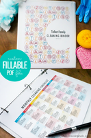 Editable Cleaning Binder Printable Pack