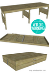 DIY portable folding workbench plans