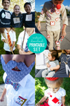 Easy DIY Halloween Costumes for Groups (Printable)