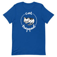 Cat Trapped Short-Sleeve Unisex T-Shirt