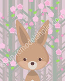 Woodland Creature Printable Wall Art