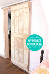 Easy DIY Rolling Barn Door Woodworking Plan