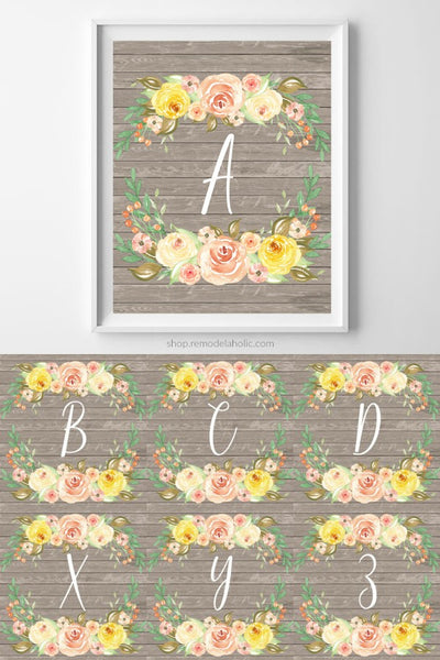 This is a graphic of Printable Monogram Letters with regard to binder covers