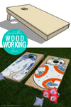 DIY Cornhole Boards Woodworking Plan