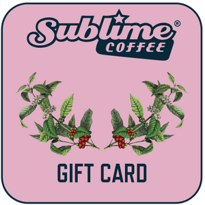 Sublime Coffee Online Gift Card