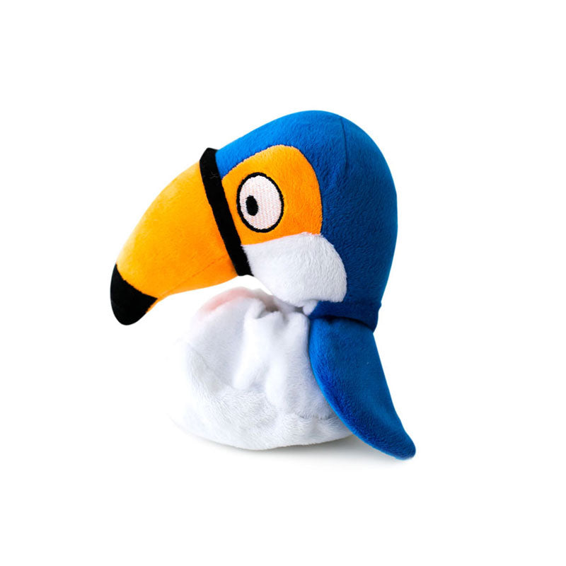 Hatchables Toucan: Inside-Out Dog Toy