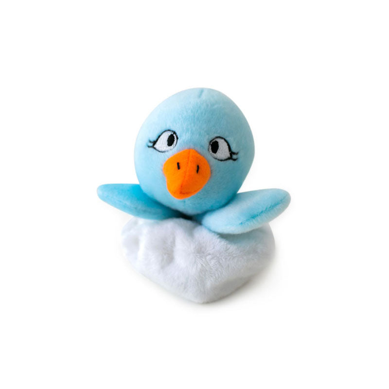Hatchables Blue Bird: Inside-Out Dog Toy