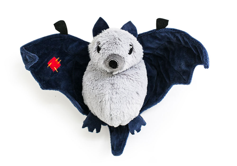 Hatchables Grey Bat-O-Lantern: Inside-Out Dog Toy