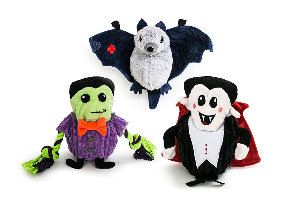 Hatchables Halloween 3-Pack Bundle: Inside-Out Dog Toys