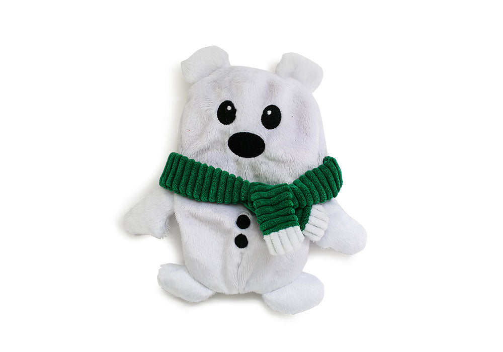 Hatchables Polar Bear: Inside-Out Dog Toy