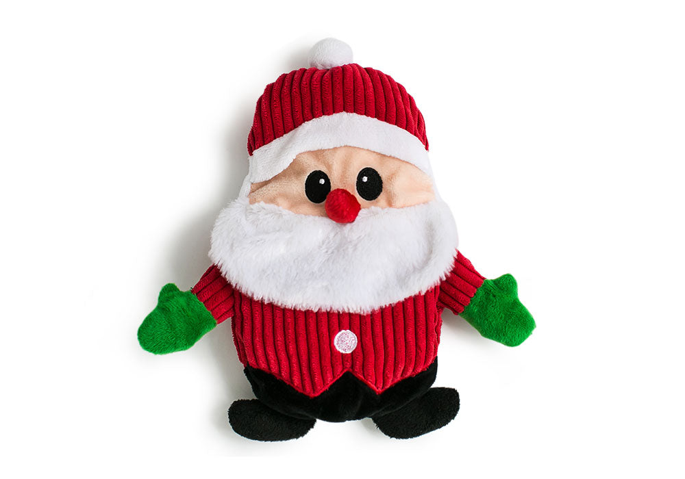 Hatchables Santa: Inside-Out Dog Toy