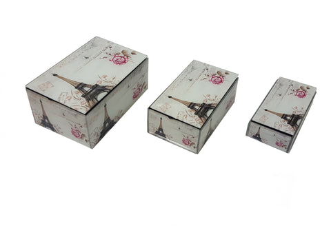 Jewellery Boxes - 3 Rectangle Boxes