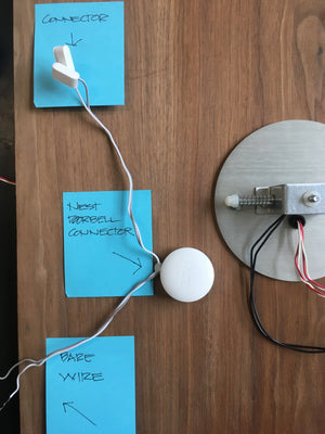 NEST doorbell connector instructions