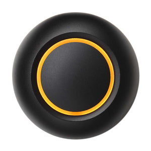 True BLACK Doorbell Button
