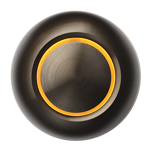 True Doorbell Button | Bronze, Amber Illumination