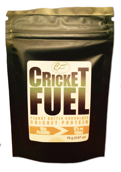 Cricket Fuel: Peanut Butter Chocolate
