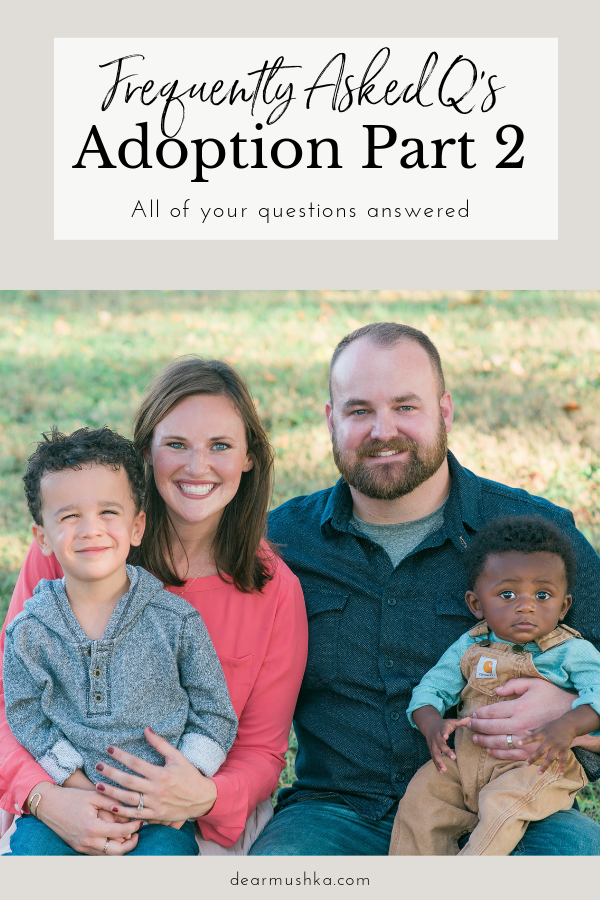ADOPTION: faqs part two