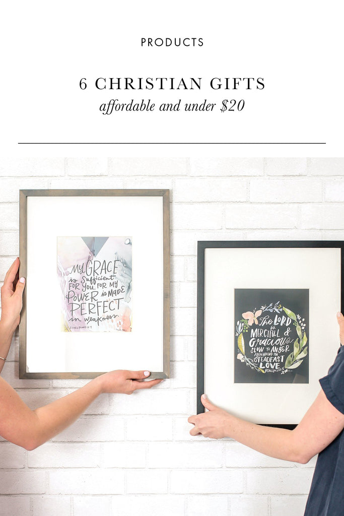 6 Christian Gifts Ideas Under $20