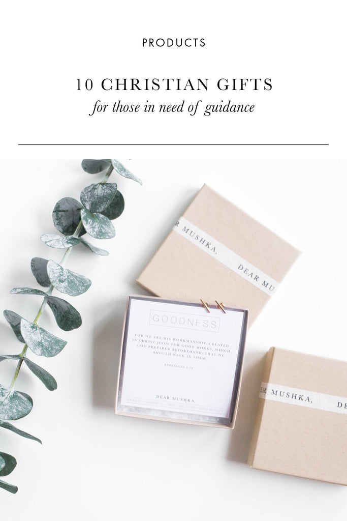 10 Christian Gifts for Guidance