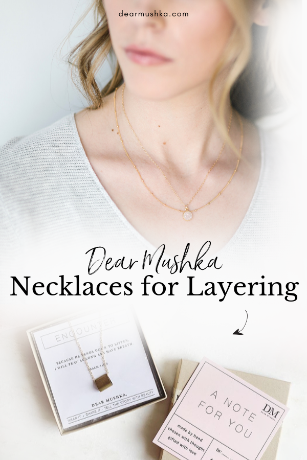 Necklaces for Layering