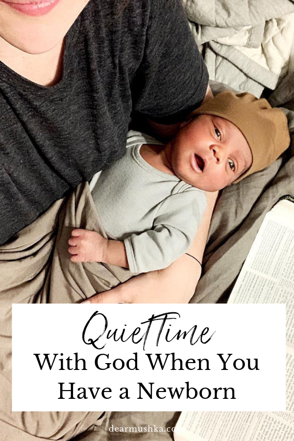 Quiet Time as a Christian Mother with a Newborn