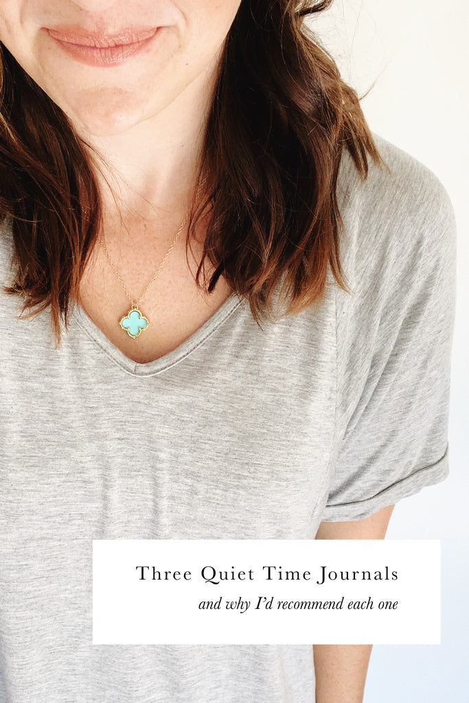 Three Quiet Time Journals (and why I'd recommend them)