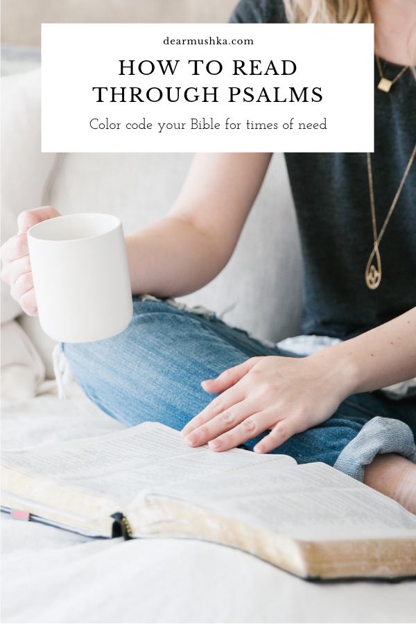 How To Read Through Psalms