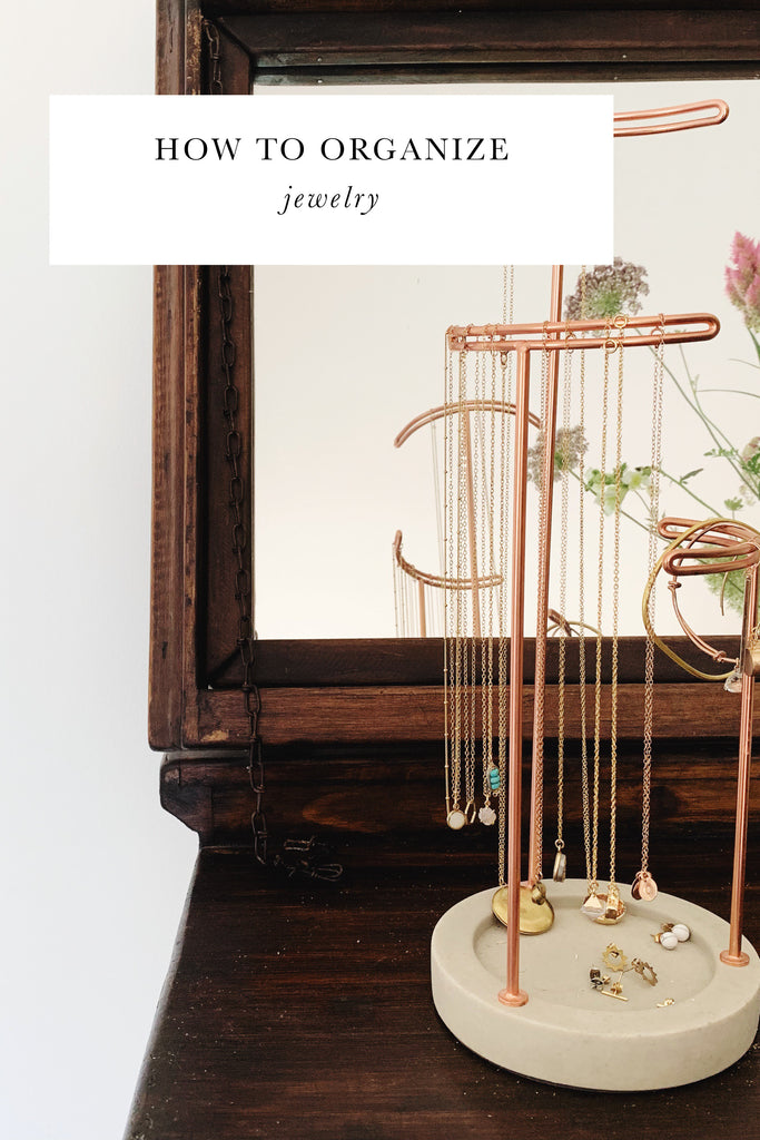 How to Organize & Store Jewelry