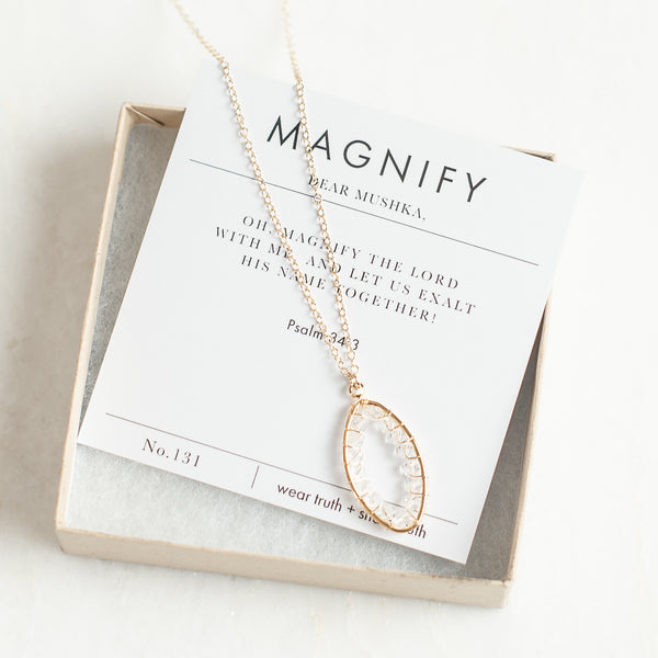 MAGNIFY · PSALM 34:3