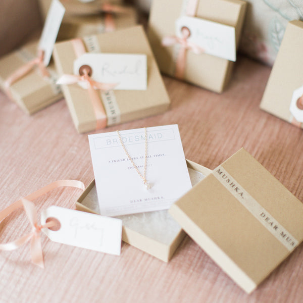 BRIDESMAID PACKAGING
