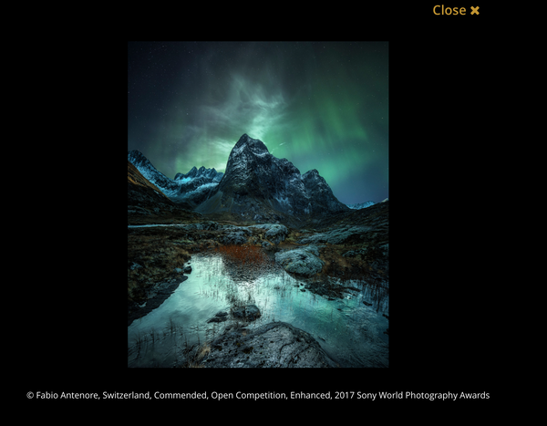 3 Bilder Commended am  Sony World Award 2016
