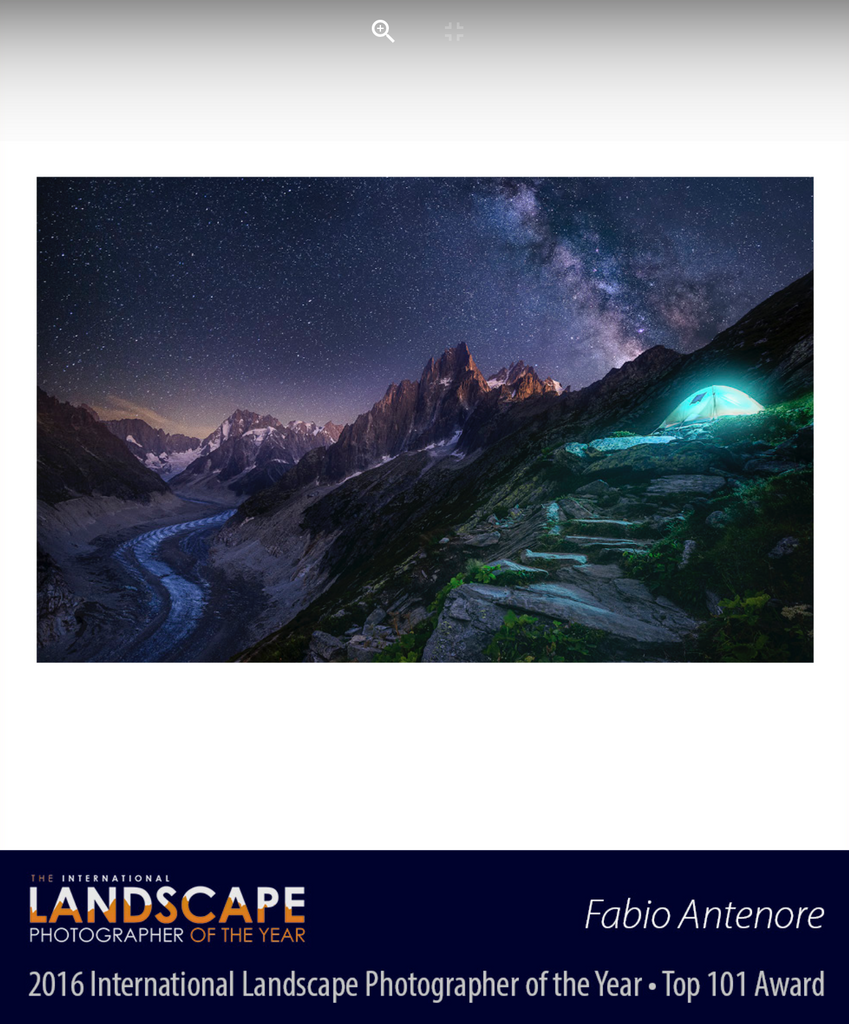 Top 101 , International Landscape Photographer of the Year 2016