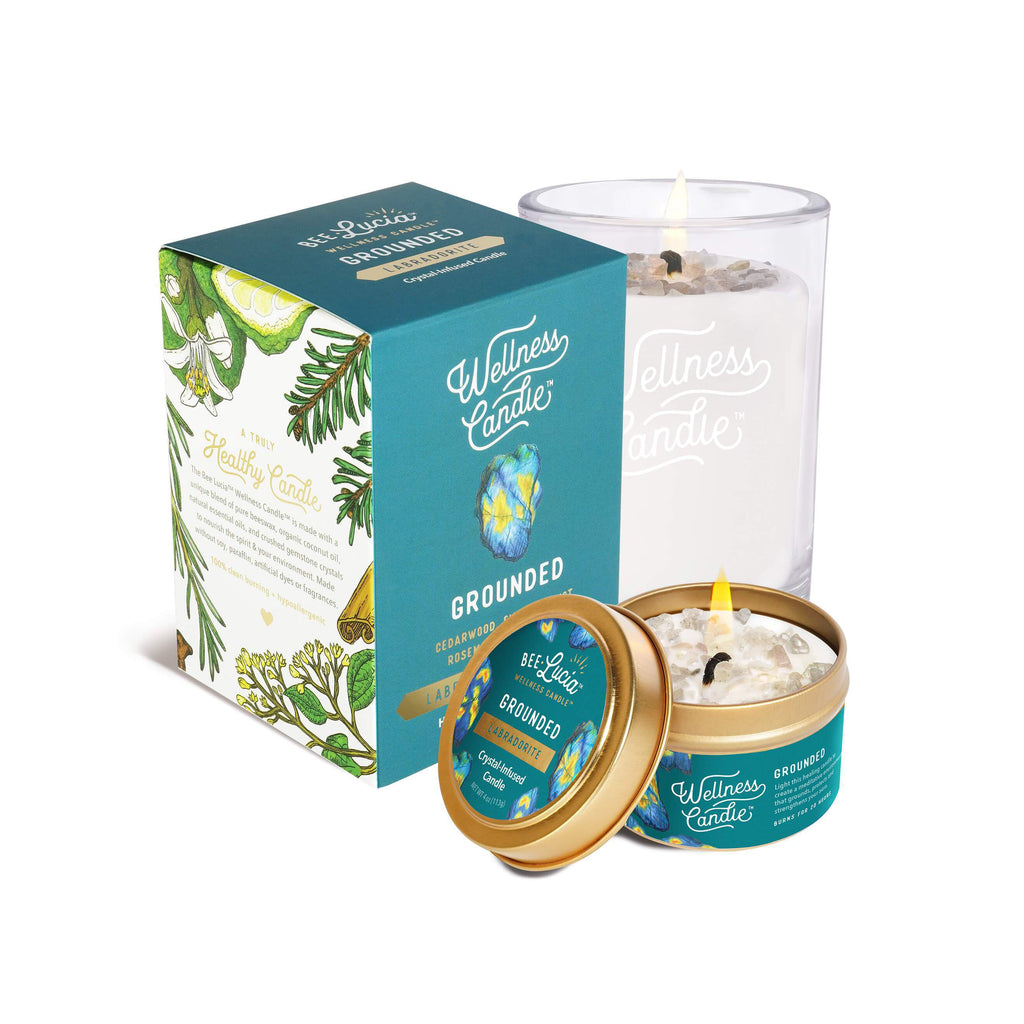 Bee Lucia Wellness Candle - Grounded
