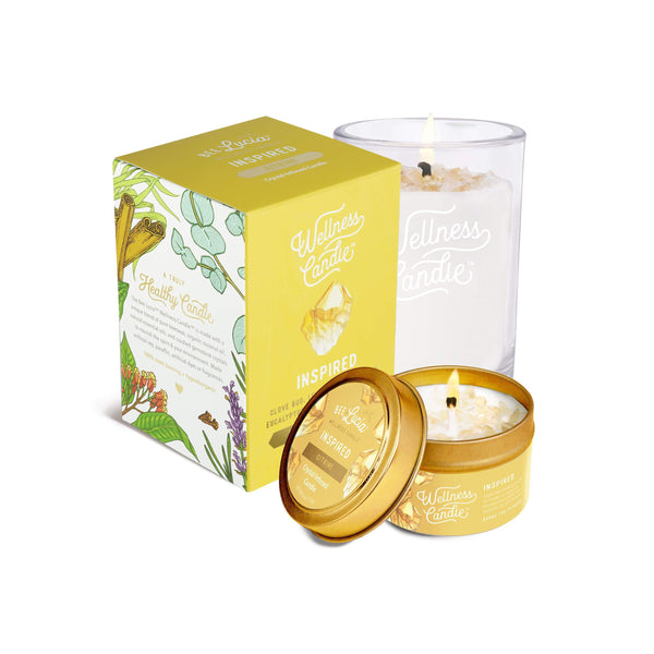 Bee Lucia Wellness Candle - Inspired