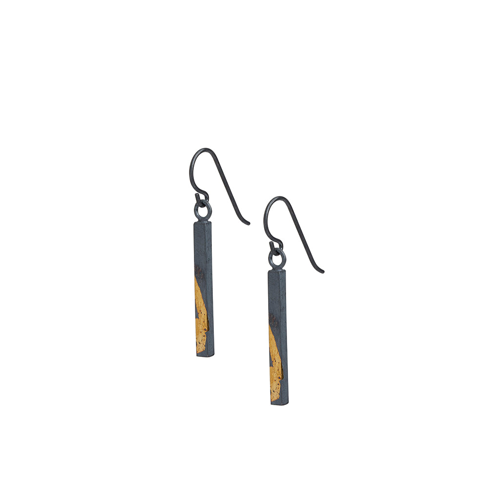 Golden Bar Dangle Earrings