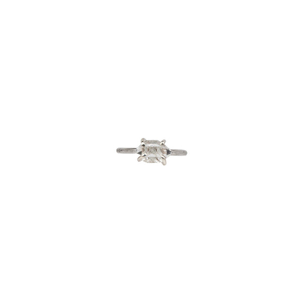 Herkimer Diamond Ring in Silver