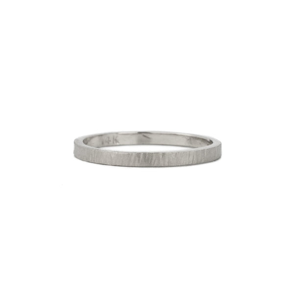 Birch Band in Sterling Silver