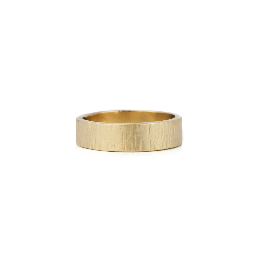 Birch Band in 14k Gold - 6mm