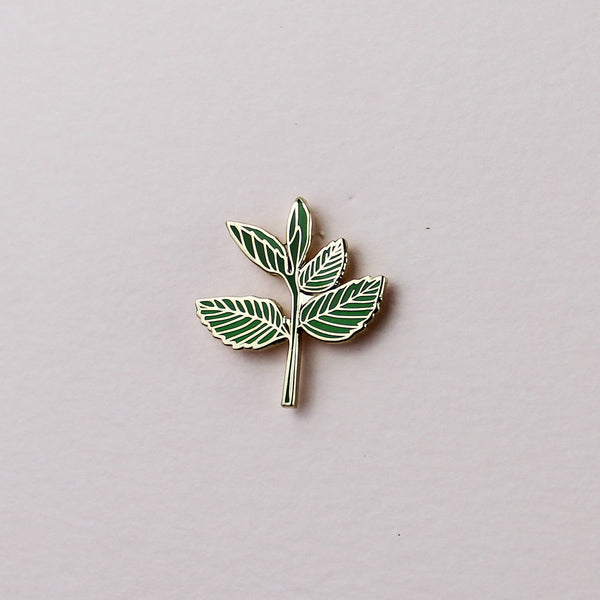 Mint Enamel Pin