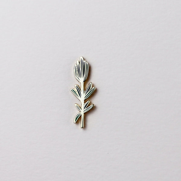 Rosemary Enamel Pin