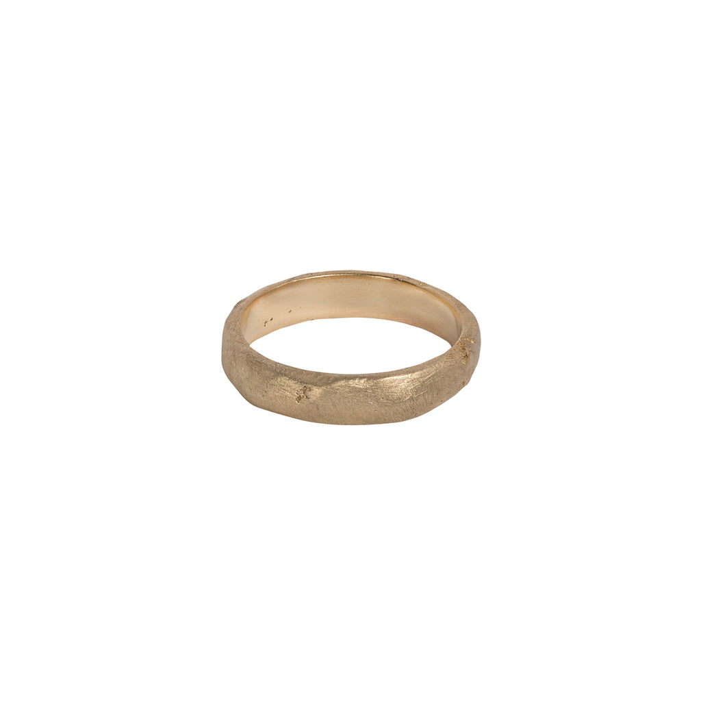Sandcast Ring - 4mm